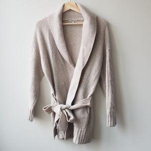 Madewell Sz S Shawl Collar Wrap Cardigan Sweater